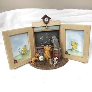 Disney Winnie the Pooh double picture frame school